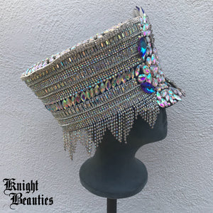 Goddess Gaia Crystal Festival Marching Band Hat