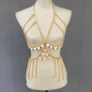 Clementine Gold Chain Body Jewelry