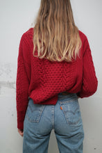 Laden Sie das Bild in den Galerie-Viewer, ♥︎ Roter Woolrich Wollpullover