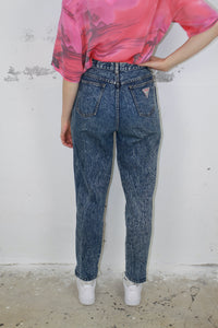 Acid wash Mom Jeans (Vintage)