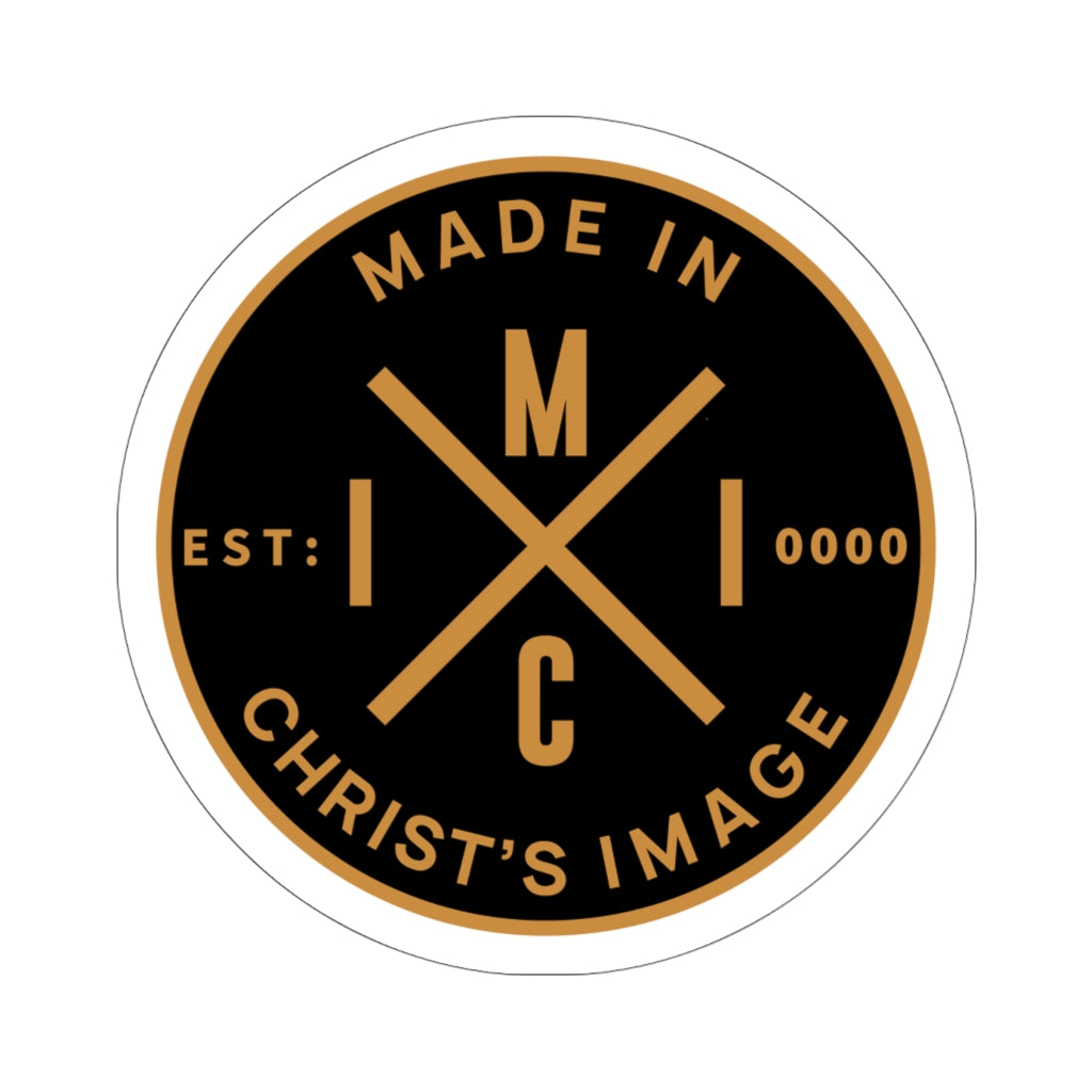 "MICI Origin ""Crown"" Die-Cut Sticker"