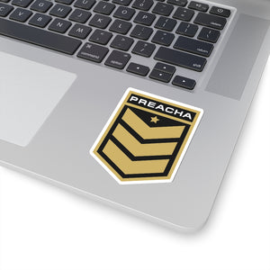 Preacha Die-Cut Sticker