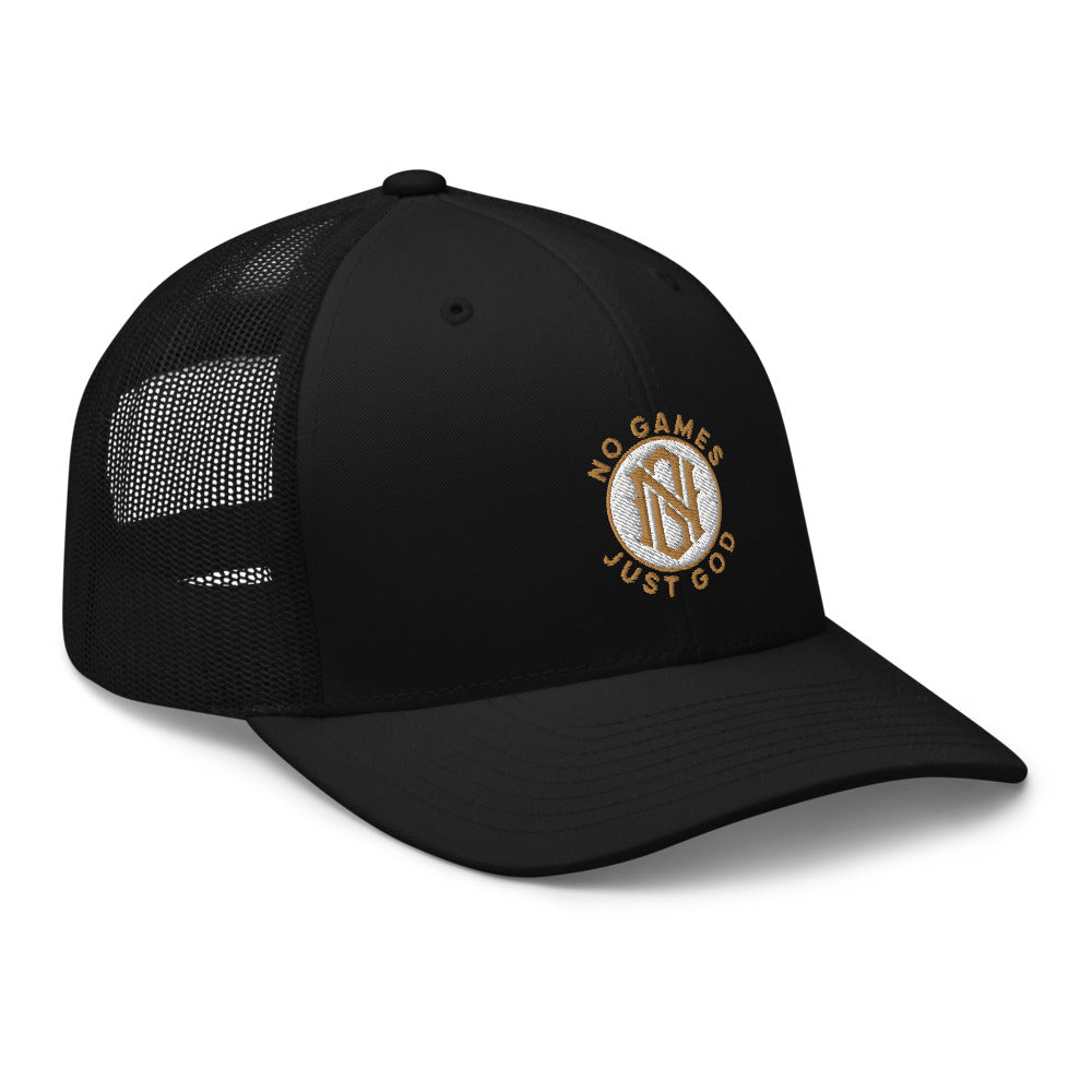 No Games Zest Trucker Cap Black