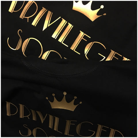 Unisex Privileged Society Signature Tee