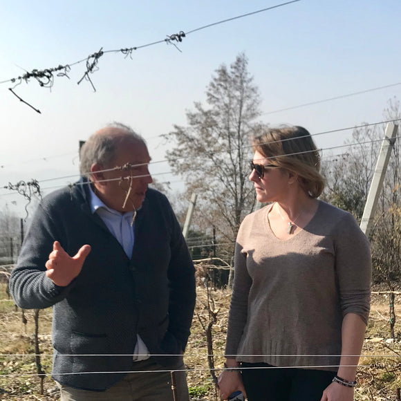 Agostino Vicentini (and Emma) Soave and Valpolicella producer in the Veneto with Volcanic and limestone terroirs.