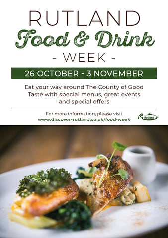 Discover Rutland Food and Drink Week 2019 - 26 October to 3rd November Bat and Bottle Wine Merchants Offer