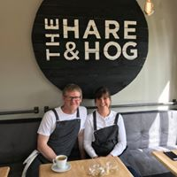 Nicky and Nick Brake owners of the Hare and Hog