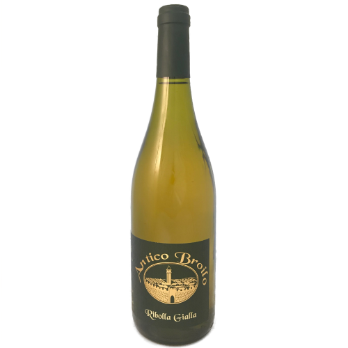 Antico Broilo Ribolla Gialla Colli Orientali full flavoured white wine