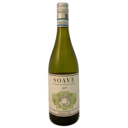 Brigaldara Soave made from Garganega grwon in the Soave disciplinaire of the Veneto. Dry Italian white wine.