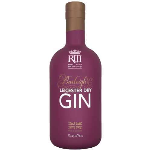Burleighs Leicester Dry Gin Richard III English Craft Gin