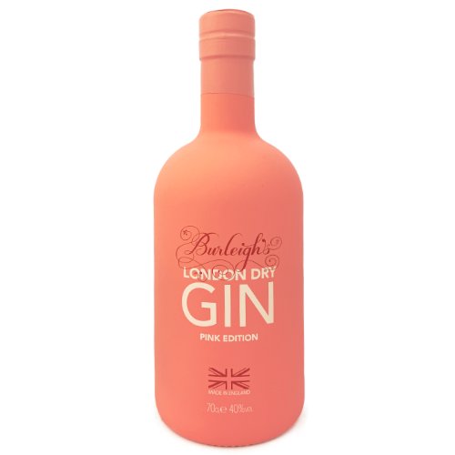 Burleighs London Dry Gin Pink Edition Craft English gin