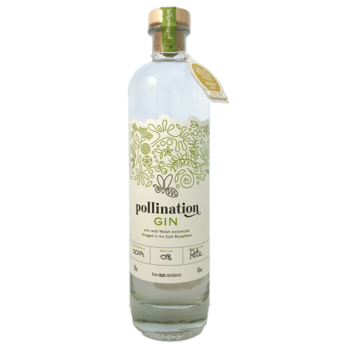Dyfi distillery Pollination Welsh Craft Gin from foraged botanicals in the Dyfi Valley UNESCO biosphere Wales
