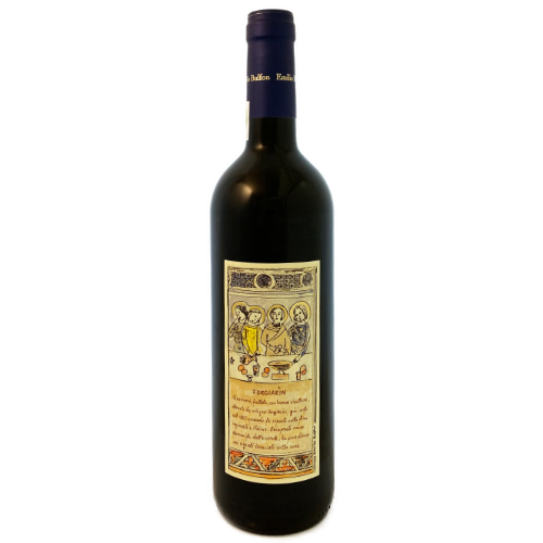 Emilio Bulfon Forgiarin medium bodied dry red wine from the Friuli Northeast Italy