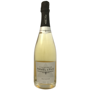 Champagne Faniel et Fils Brut Nature non vintage Champagne made by Matthieu Faniel  in Cormoyeaux Champagne France
