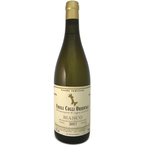 Christian Patat Fondo Indizeno Friuli Colli Orientali Bianco 2017 field blend medium bodied dry white from Malvasia Istriana, Ribolla Gialla, Friulano and Pinot Bianco