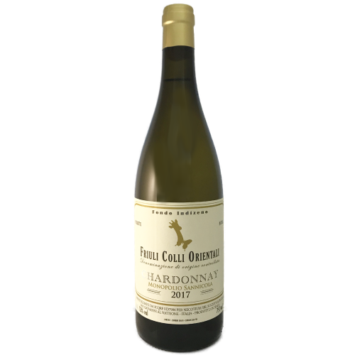 Fondo Indizeno Colli Orientali Chardonnay 2017 Medium bodied dry white Chardonnay made by Christian Patat in the Friuli Italy