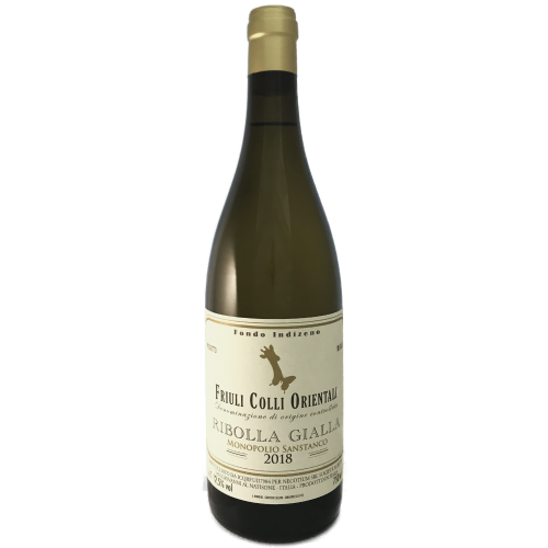 Fondo Indizeno Colli Orientali Ribolla Gialla 2018 Light to medium bodied dry white wine made by Christian Patat in the Friuli, Italy