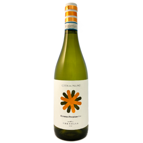 Cantina Frentana Pecorino 'Mulino' Terre di Chieti dry white wine from the Abruzzo, Italy