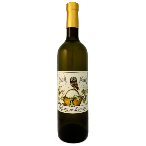 Le Marie Blanc de Lissart a dry aromatic white from the grape Malvasia Moscato