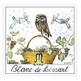 Le Marie Blanc de Lissart Wine Label a dry aromatic white from the grape Malvasia Moscato
