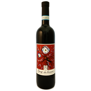 Le Marie Rouge de Lissart field blend of Barbera, Chatus, Freisa, Bonarda and Neretta Cuneese from the Pinerolese in the Northern Piemonte