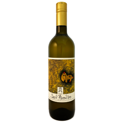 Le Marie Sant Agostino dry white from the autoctonous Arneis grape grown in the Pinerolese Northern Piemonte