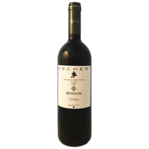 Matteo Ascheri Montalupa Syrah 2007 Italian Full bodied red wine