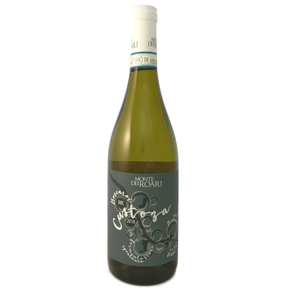 Monte dei Roari Custoza Dry white Italian wine made from Garganega Biodynamic and organic registered