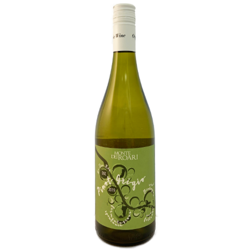 Monte dei Roari Pinot Grigio Tre Rie 2019 Biodynamic and organic natural wine no sulphites and no filtration