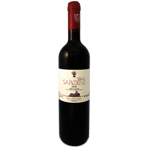 Villa Sardini. Lucchesi medium bodied dry red wine from Lucca, Tuscany