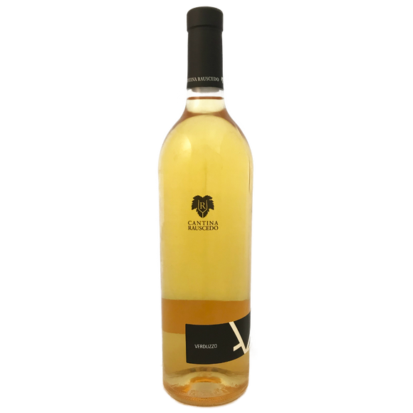 Rauscedo Verduzzo sweet still white wine from the Friuli Grave, Italy