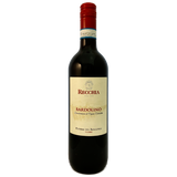 Recchia Poderi del Roccolo Bardolino made from Corvina and Corvinone light dry red wine from the Veneto Italy