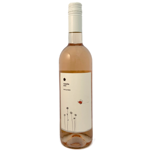 Roccafiore. Rosato 2019, an Italian dry rose from Umbria, artisan, certified Sustainable Agriculture production