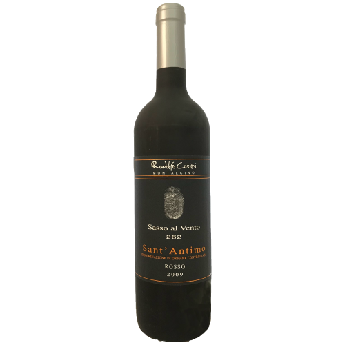 Rodolfo Cosimi Sasso al Vento 262 2009 Super Tuscan red wine from Montalcino