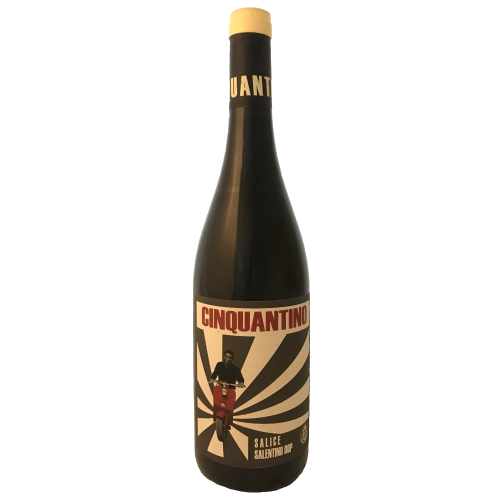 Sampietrana Cinquantino Salice Salentino. Italian medium bodied italian red wine made from Negro Amaro in Puglia Italy