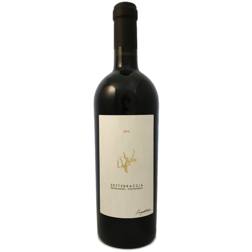 Sampietrana Settebraccia Susumaniello Negro Amaro Full bodied dry red wine from Puglia, Italy