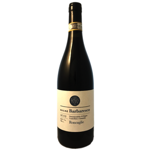 Socre. Barbaresco Roncaglie, a single vineyard Nebbiolo, medium bodied red wine from Piemonte