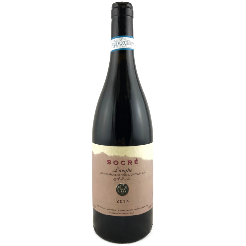 Socre Langhe Nebbiolo 2014 Medium bodied red wine from Piemonte