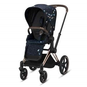 Cybex Priam 3 Stroller - Jewels of Nature - Rose Gold Frame