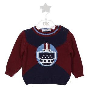 Dr. Kid Football Helmet Color Block Jumper