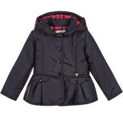 Dr. Kid Girl Navy Parka