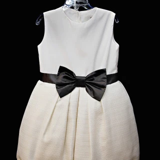 Lady & Lord Elegant Dress with Bow