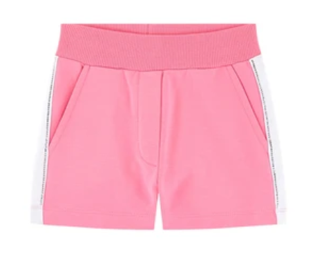Monnalisa Girls Pink Fleece Shorts