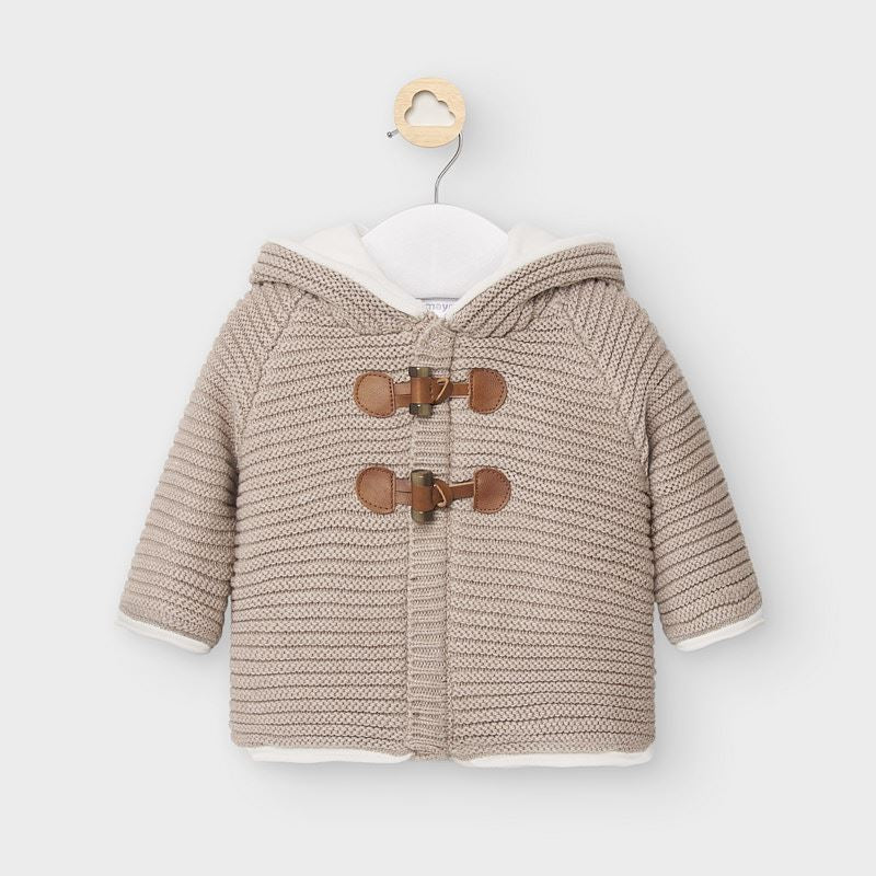 Mayoral Baby Boys Knit Cardigan with Hood