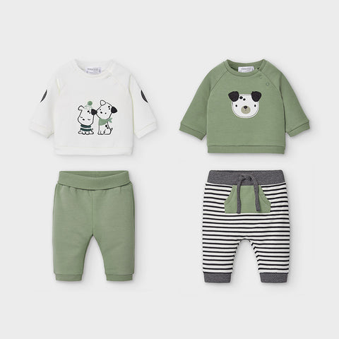 Mayoral Newborn Baby Boy Trouser Sets
