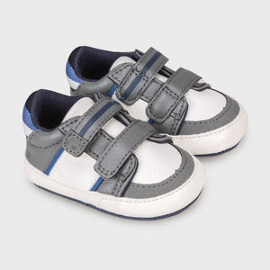 Mayoral Newborn Grey Pre-Walker Trainers
