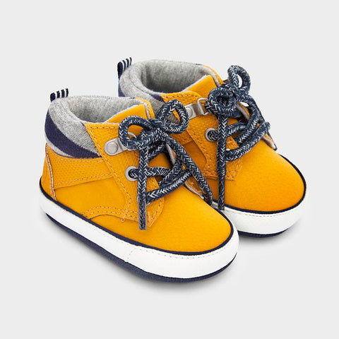 Mayoral Baby Boys Yellow Sport Boot