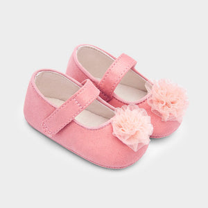 Mayoral Newborn Pink Pre-Walker Shoes
