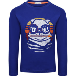 Billybandit Boys Blue Cotton Dog Top