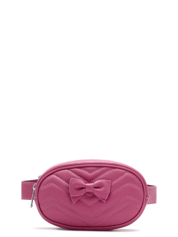Monnalisa Girls Pink Belt Bag